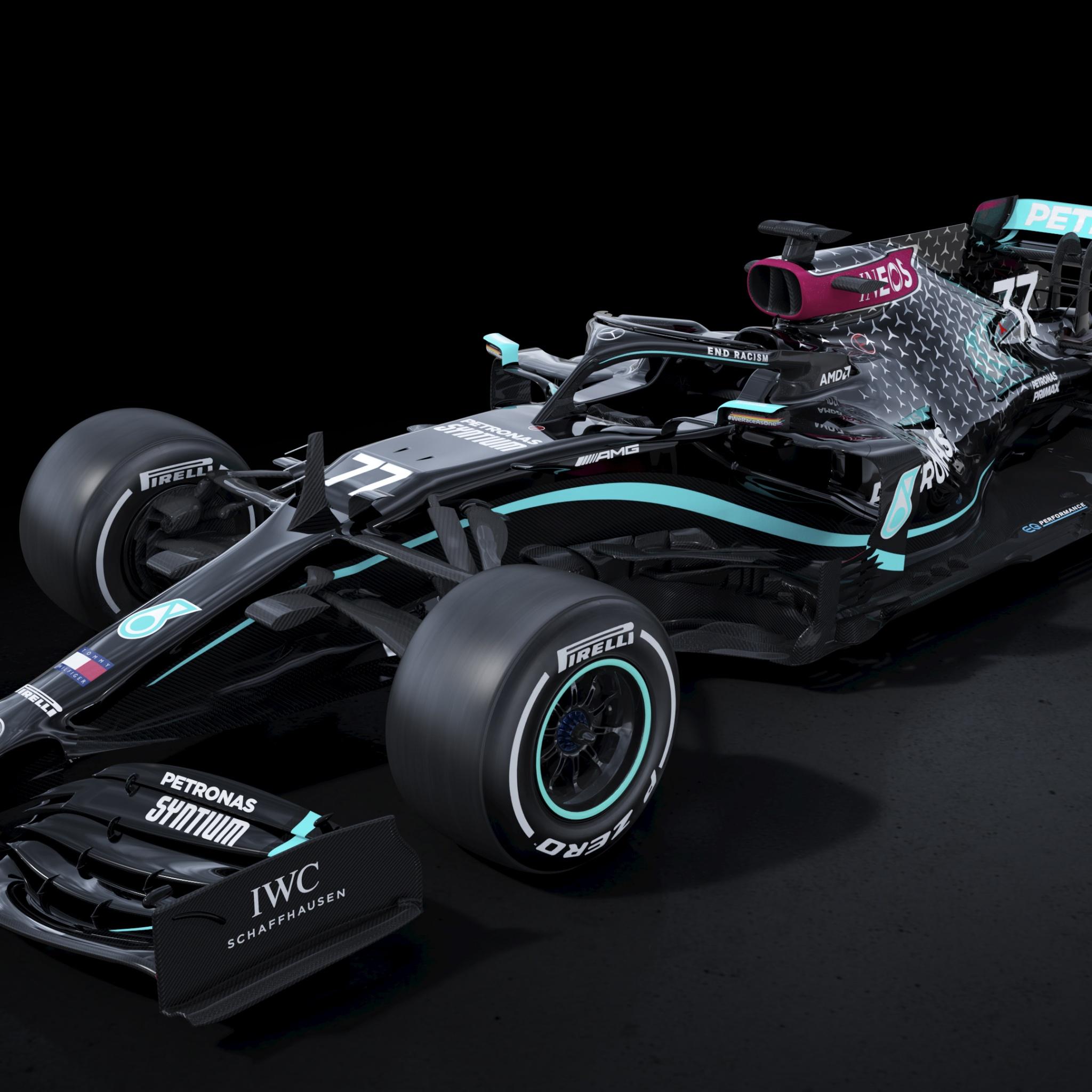 Mercedes-AMG F1 W11 EQ Performance 4K Wallpaper, 2020, F1 ...