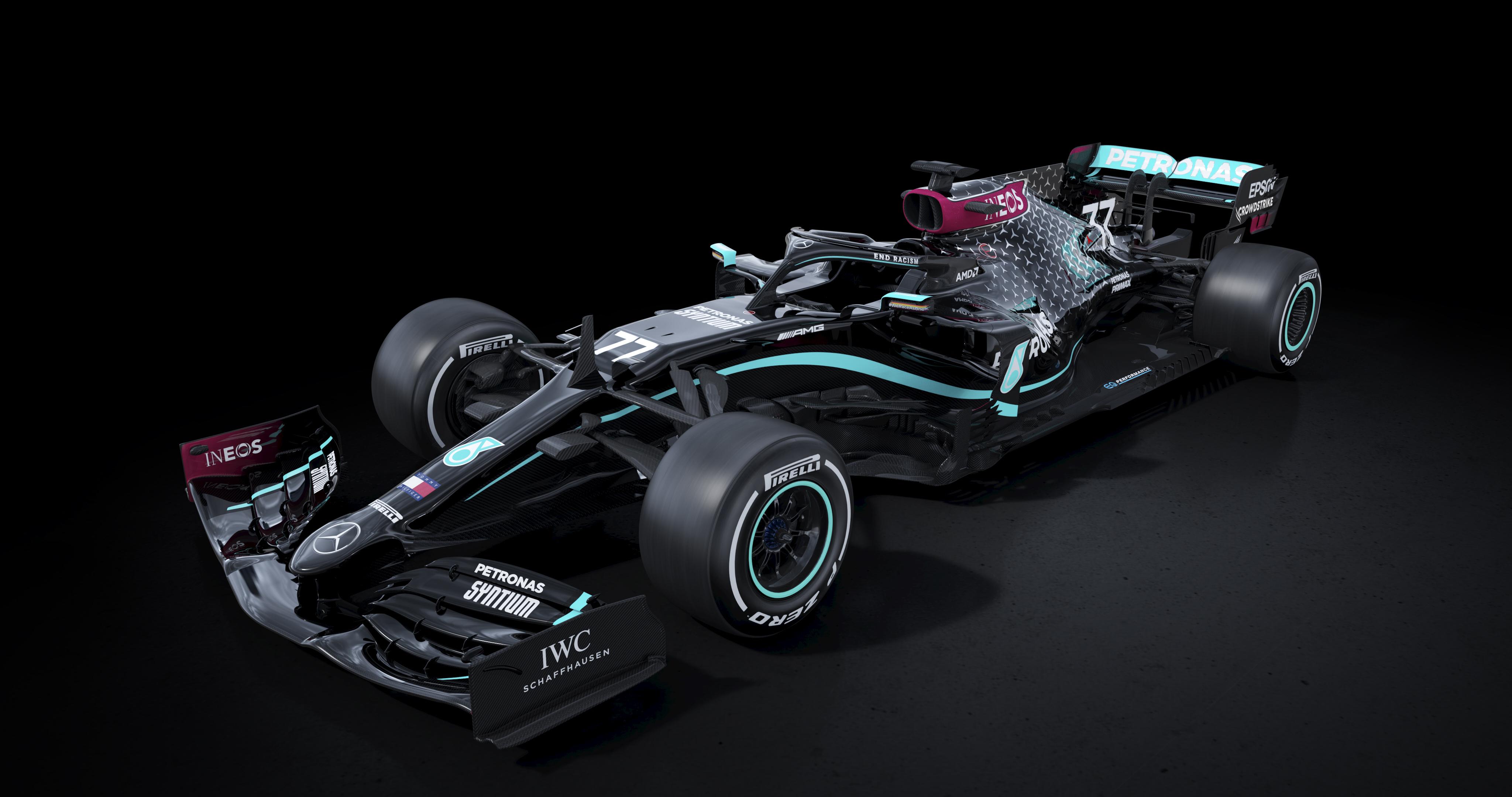 Mercedes Amg F1 W11 Eq Performance 4k Wallpaper 2020 F1 Cars Electric Race Cars Black Dark 1632