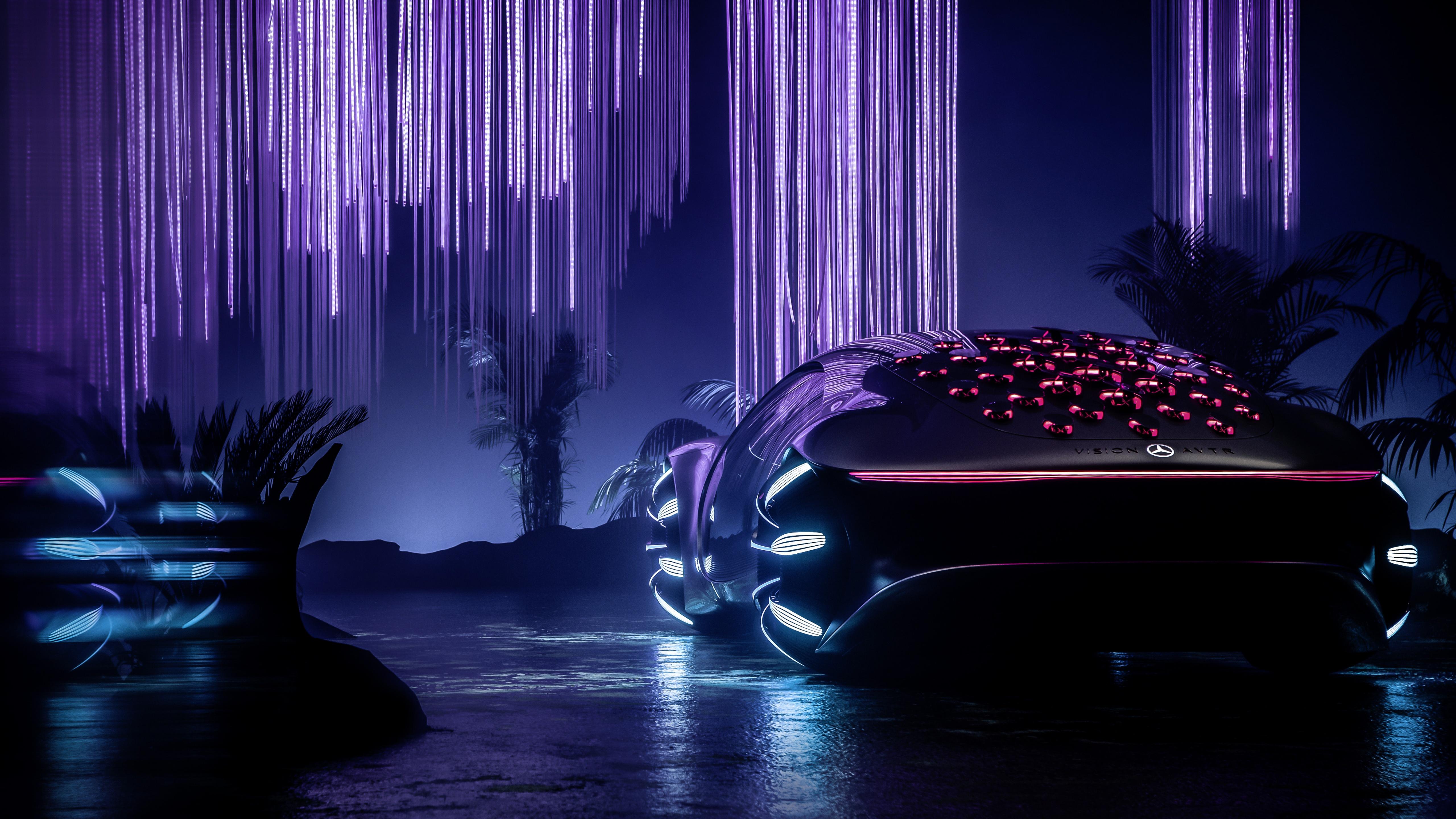 Mercedes-Benz VISION AVTR 4K Wallpaper, Electric cars ...