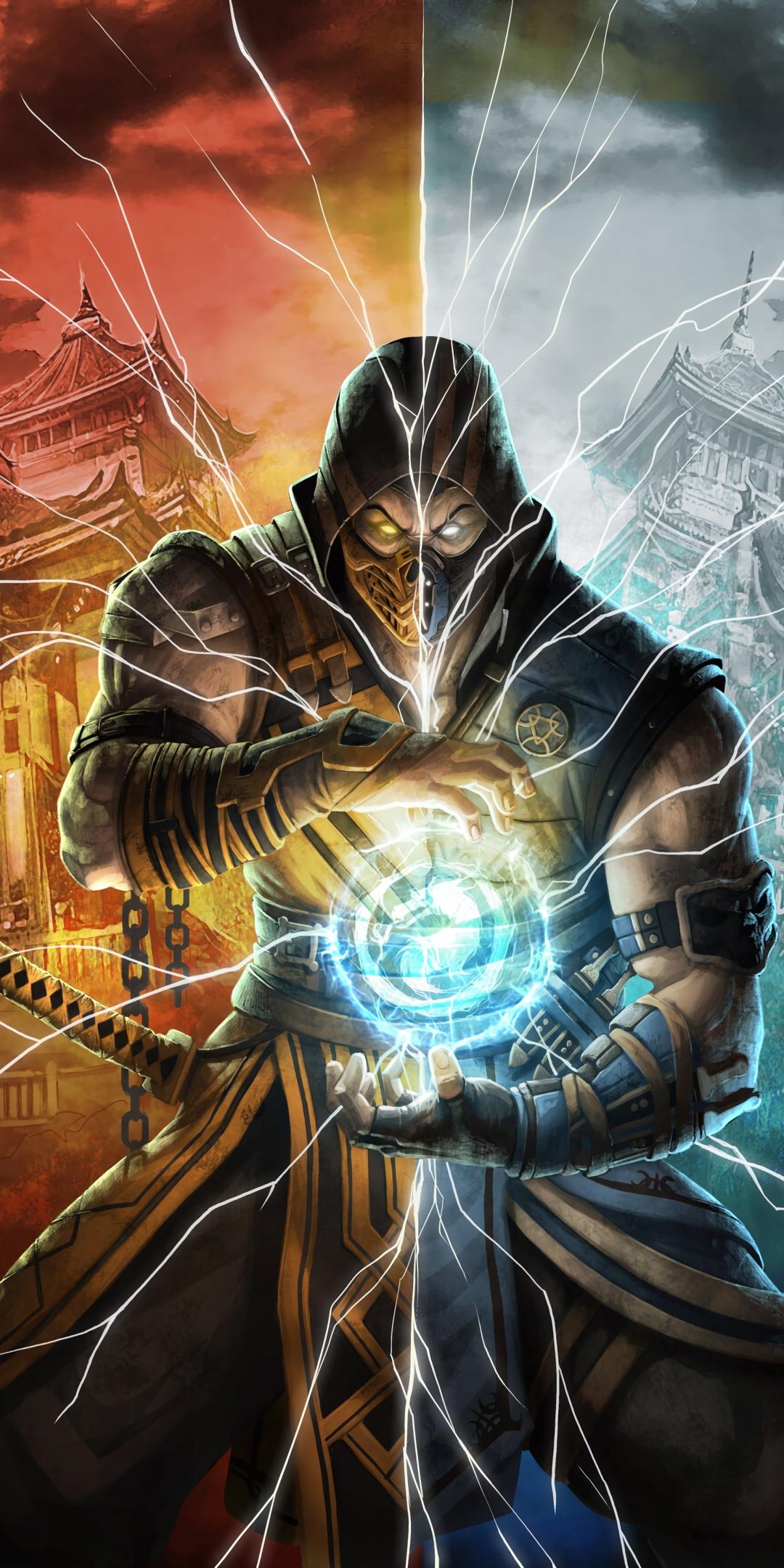 Mortal Kombat 11 4K Wallpaper Scorpion Games 1130