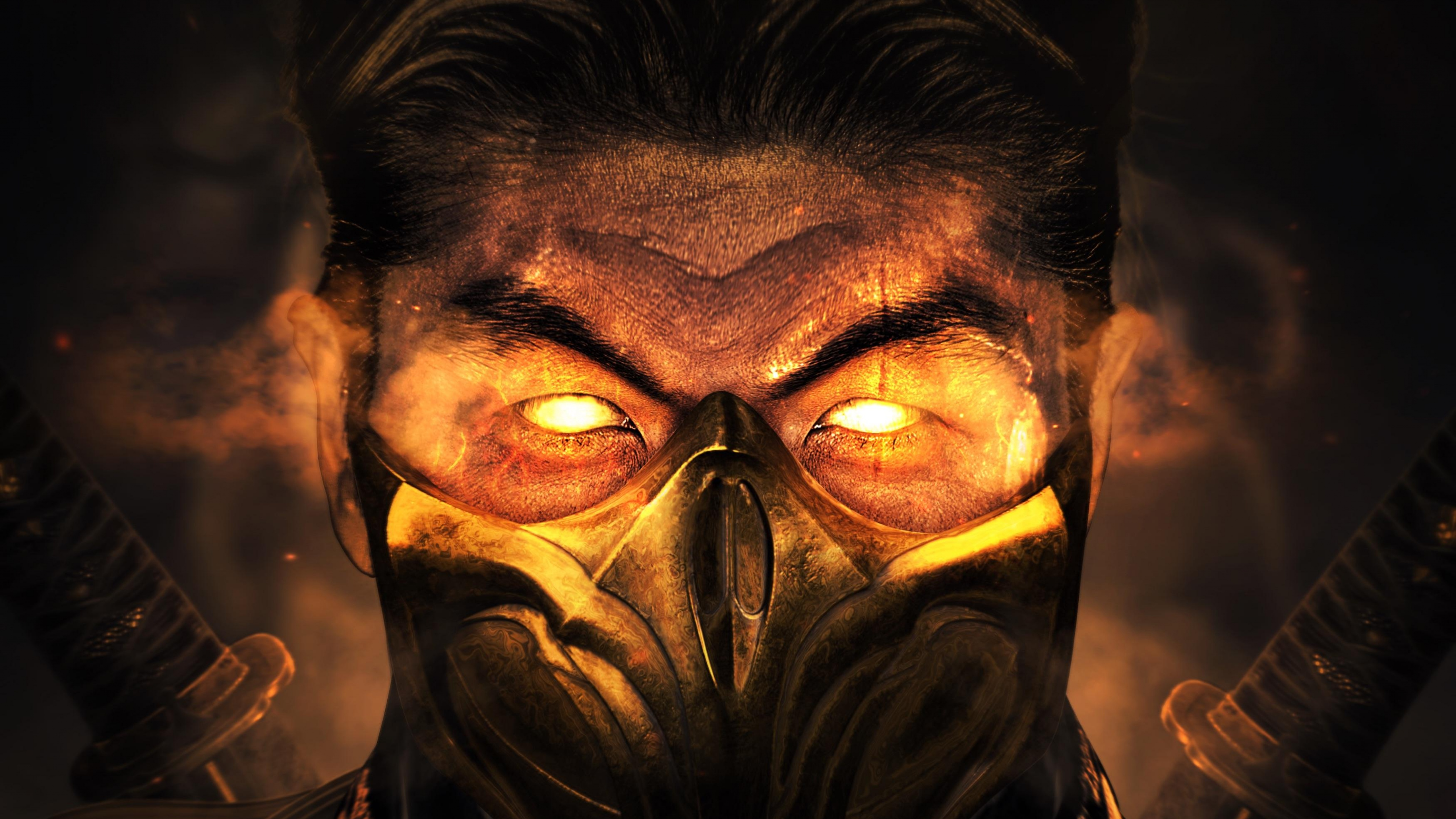 Mortal Kombat 11 4k Wallpaper Scorpion Games 1029