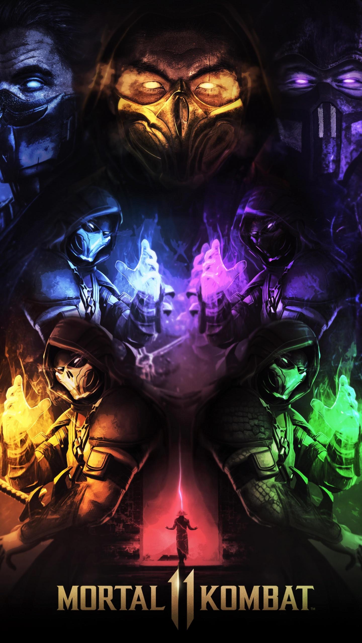 Mortal Kombat 11 4k Wallpaper Scorpion Sub Zero Games 994