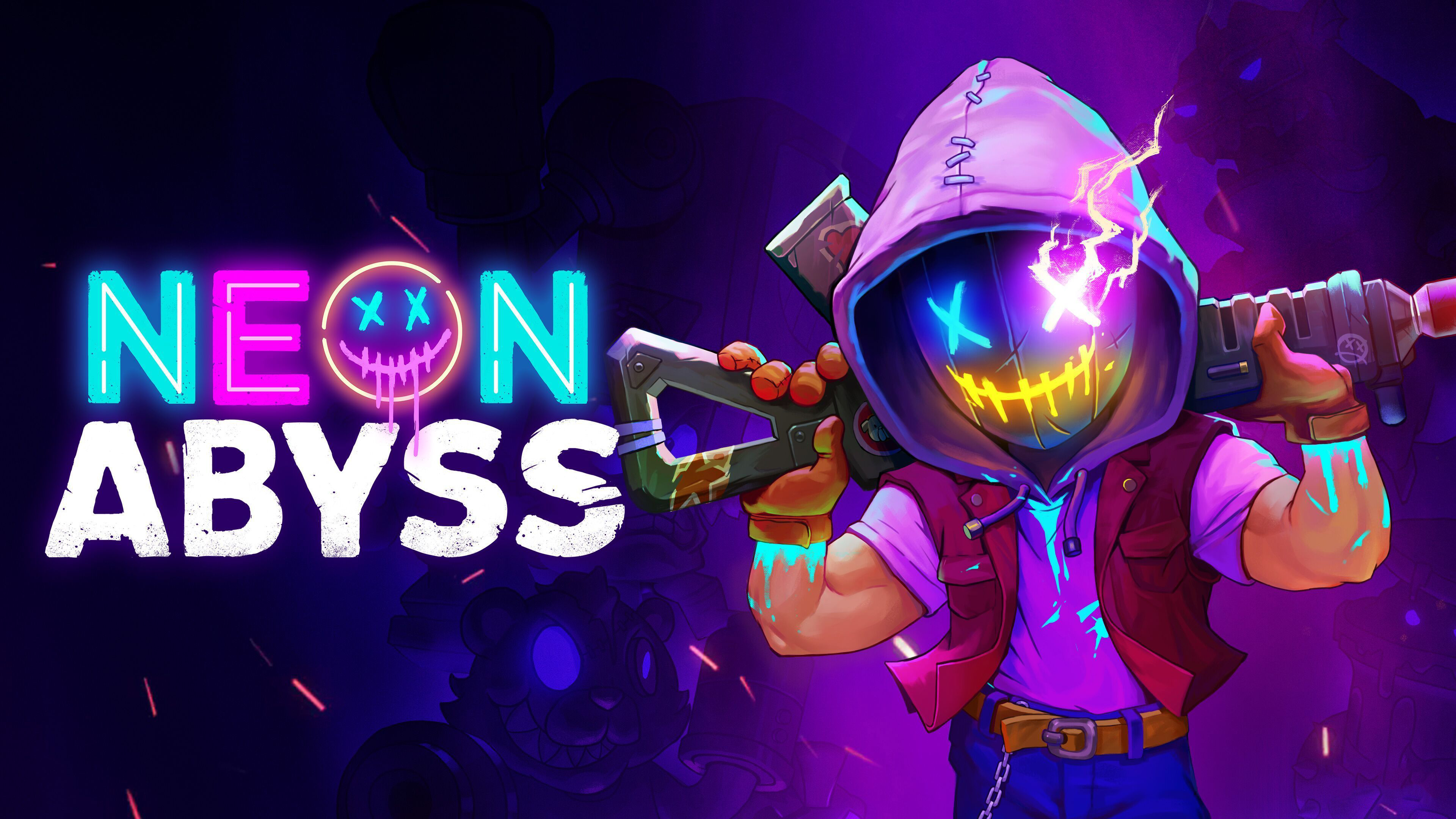 Neon Abyss 4k Wallpaper Playstation 4 Xbox One Nintendo Switch Pc Games 2020 Games Games 1487