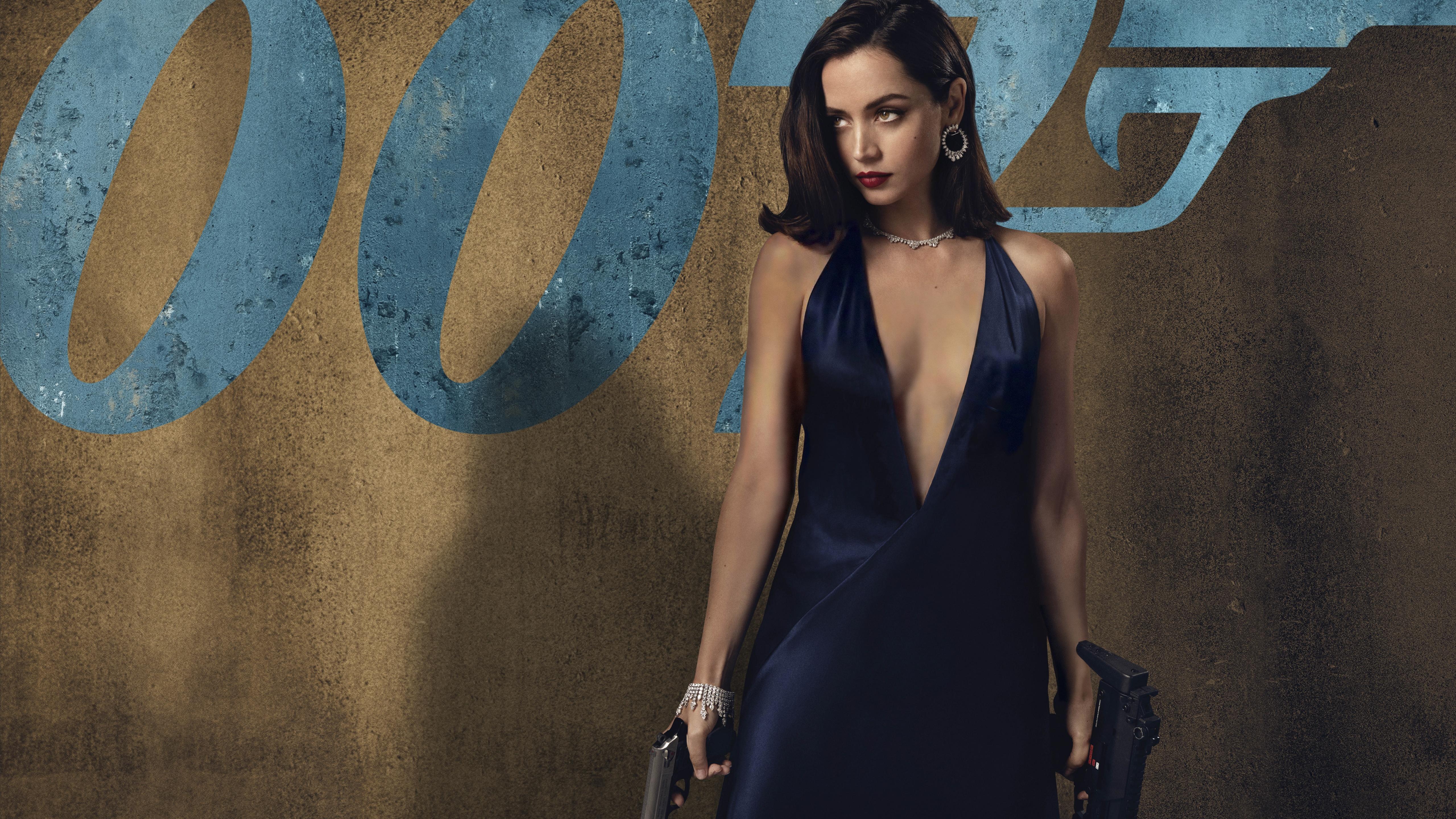 No Time To Die 4k Wallpaper Ana De Armas Movies Movies 14