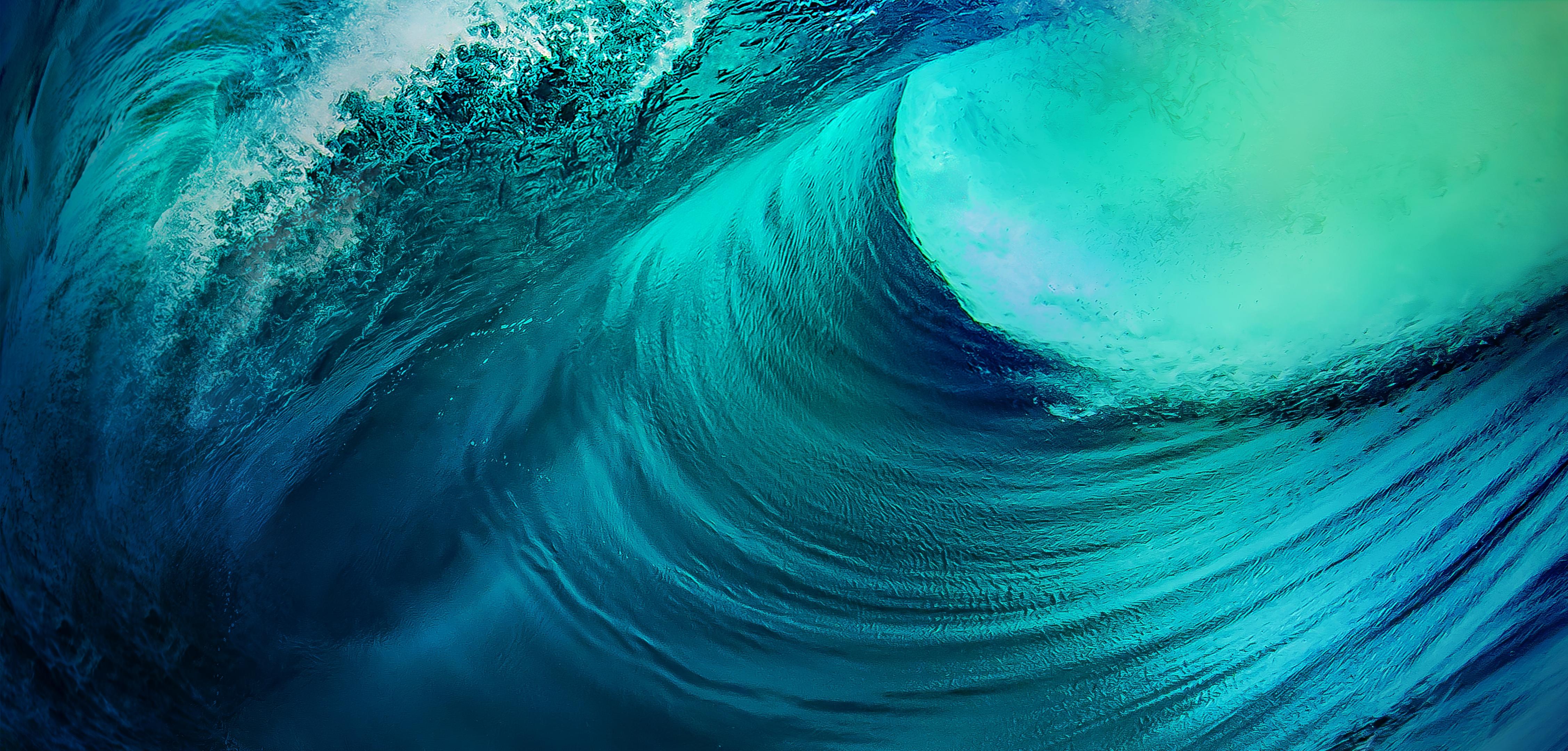 Ocean Waves 4k Wallpaper Stock Vivo Nex Android 10 Nature 481