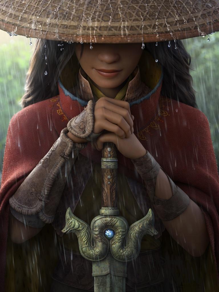 Raya and the Last Dragon 4K Wallpaper, Animation, 2021, Movies, #3059