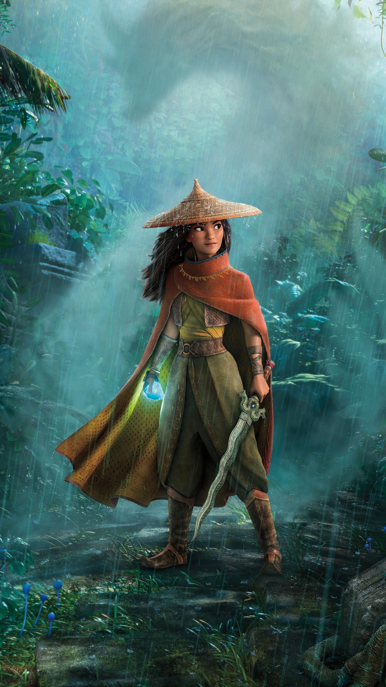 Raya and the Last Dragon 4K Wallpaper, Animation, Adventure, 2021 Movies, Movies, #3794