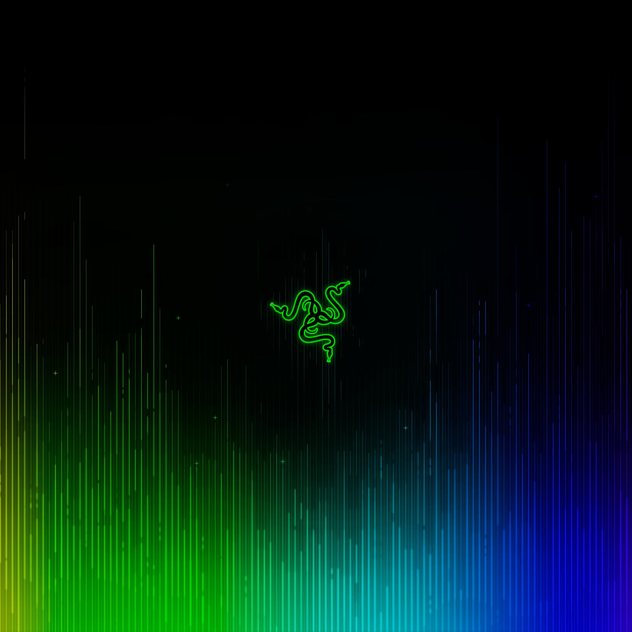 Razer 4K Wallpaper, Chromatic, Spectrum, Multicolor