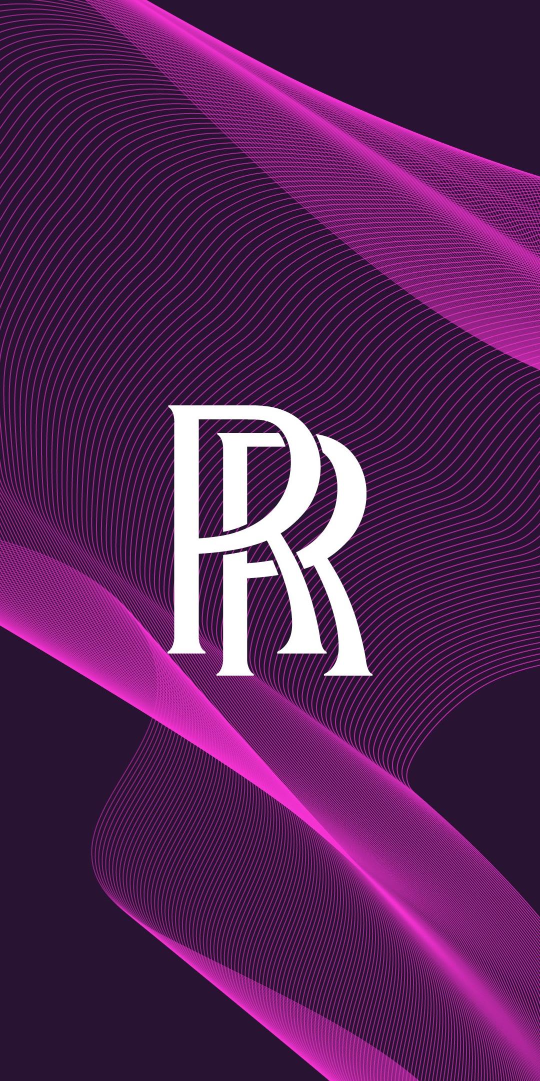 Rolls-Royce 4K Wallpaper, Purple background, Logo, Cars, #3880