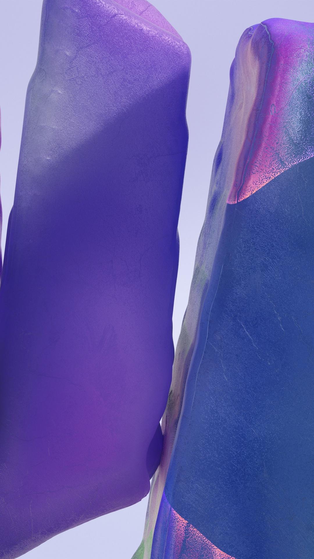 Samsung Galaxy Note 20 Ultra 4K Wallpaper, Purple, Blue