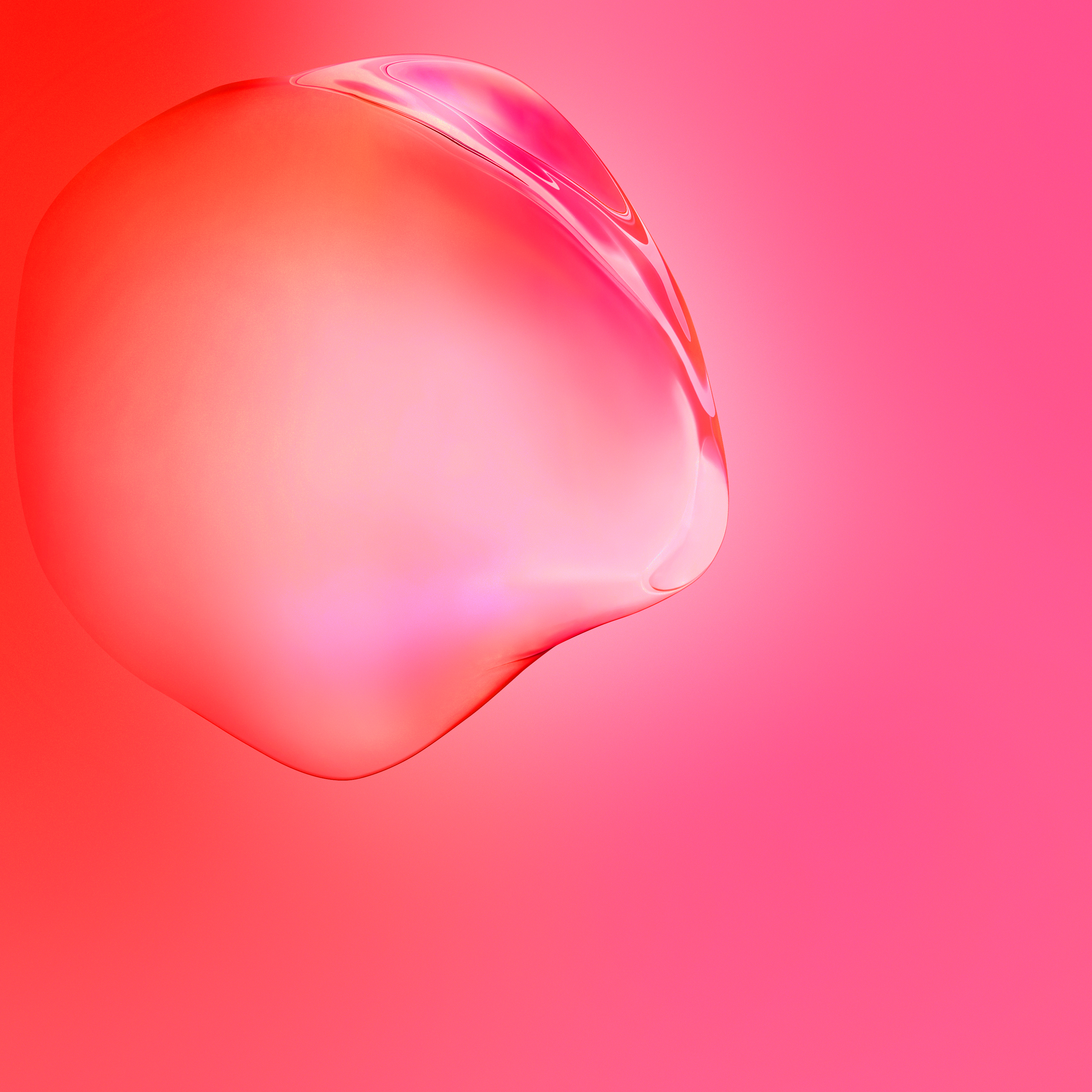 samsung galaxy s11 red bubble gradients stock 3040x3040 1711