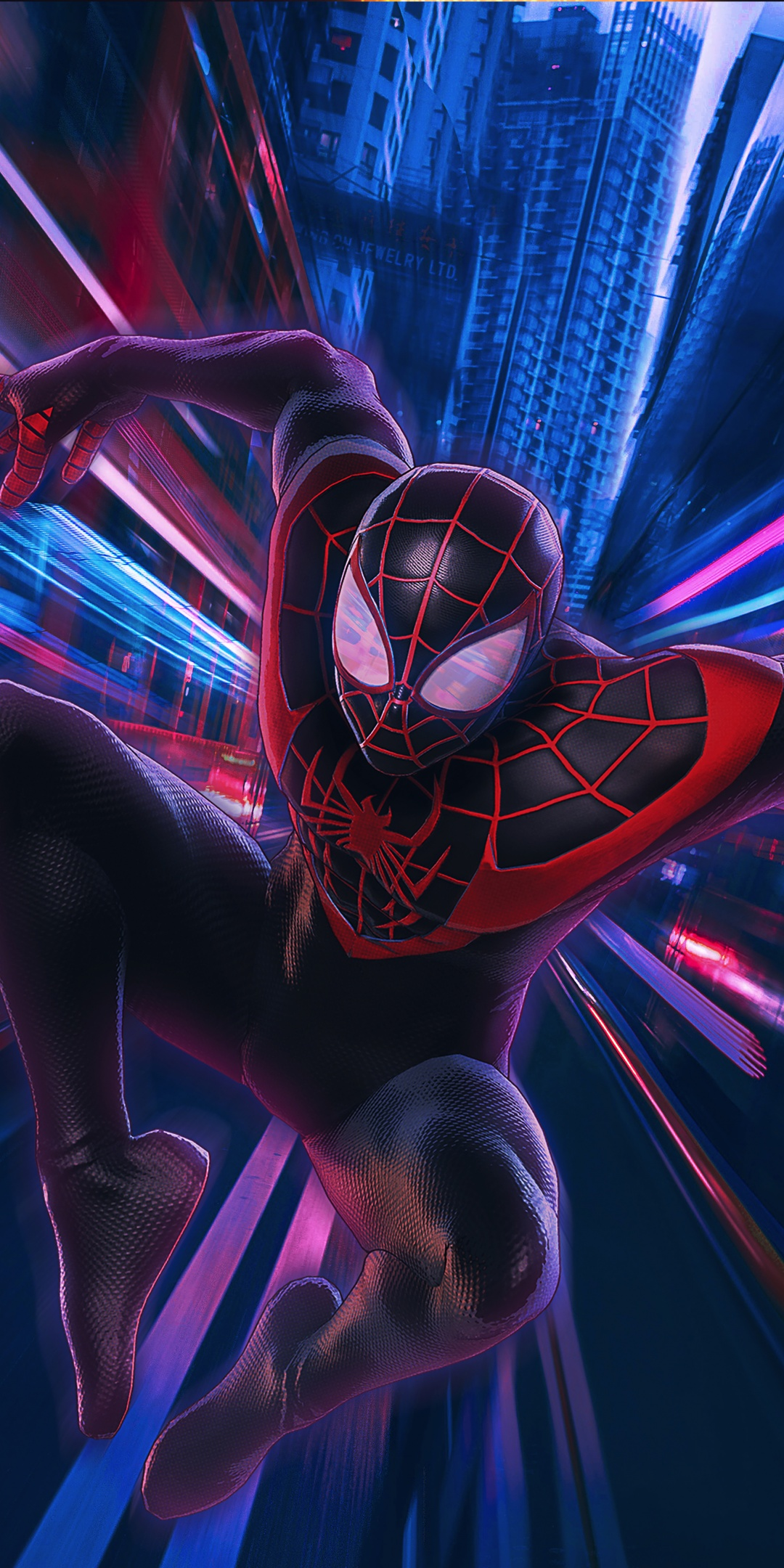 Spider-Man 4K Wallpaper, Miles Morales, : Into the Spider ...