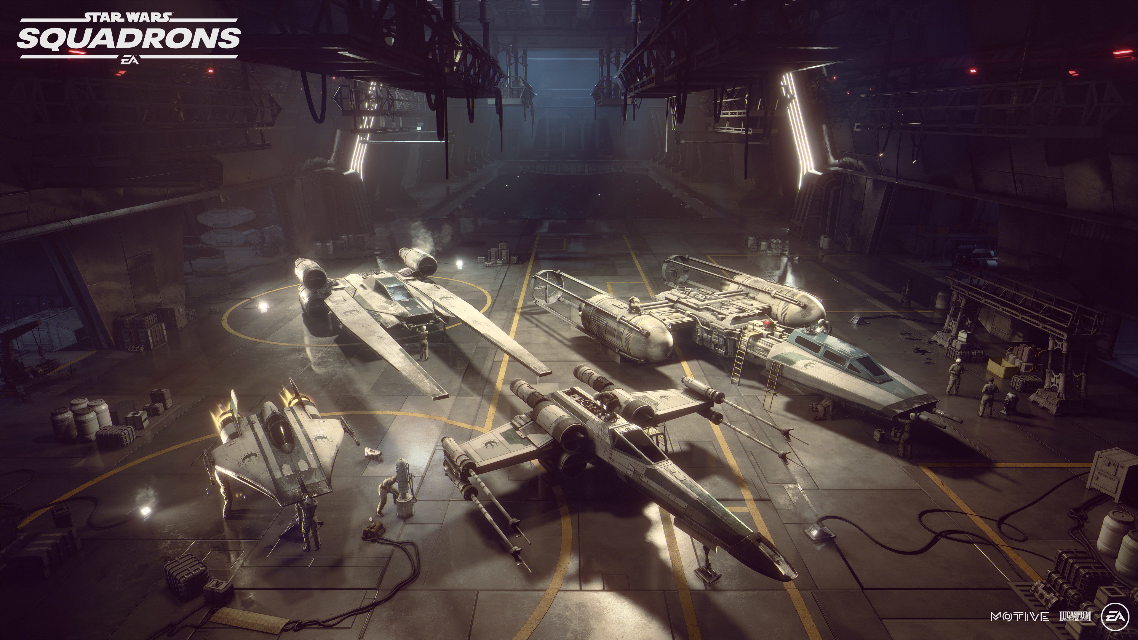 Star Wars Squadrons Wallpaper 4k Hanger Pc Games Playstation 4 Xbox One Games 1876