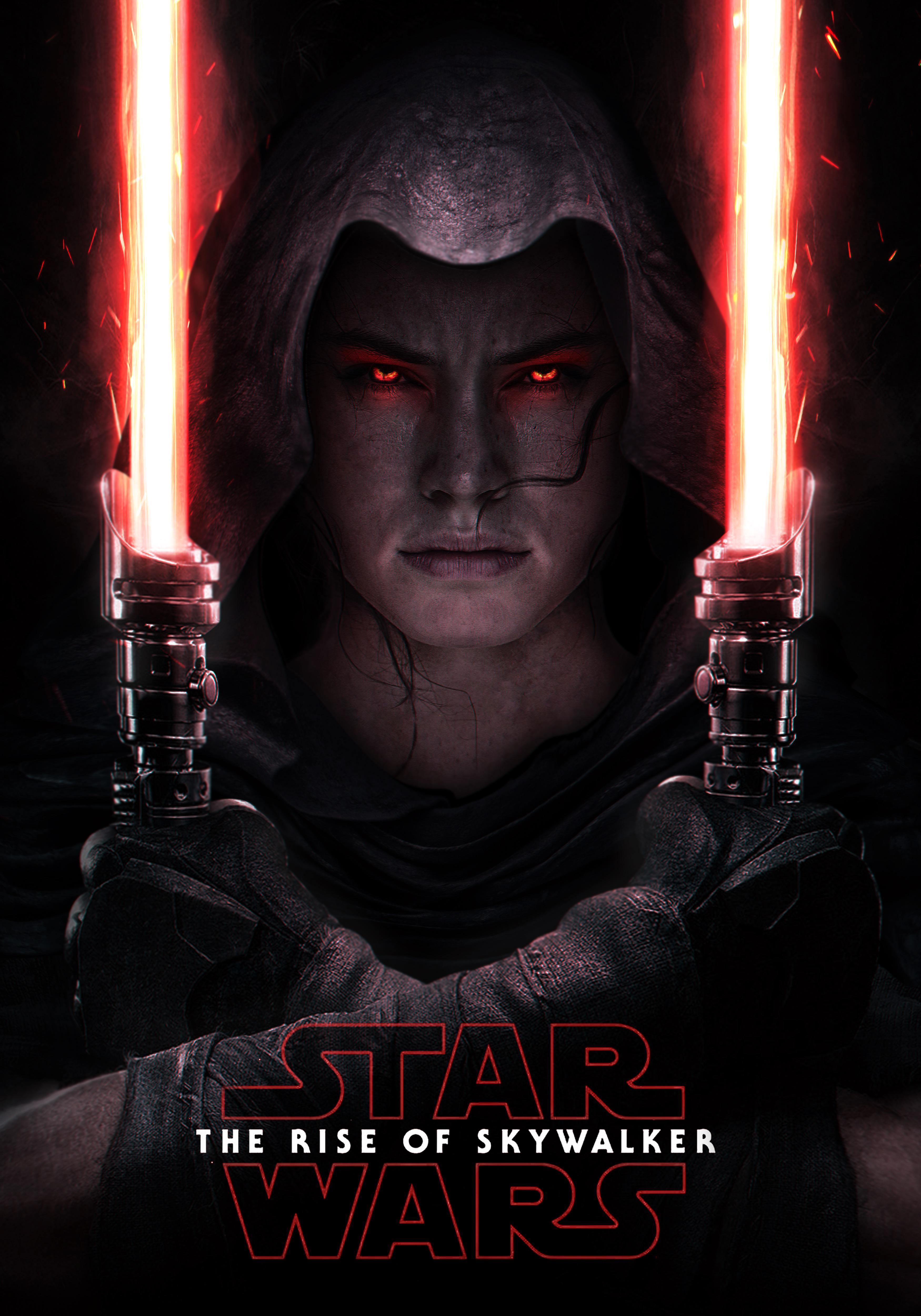 Star Wars The Rise Of Skywalker 4k Wallpaper Rey Daisy Ridley Lightsaber Movies 997