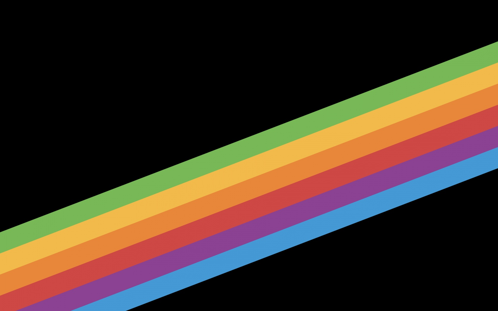 Stripes 4k Wallpaper Multicolor Ribbon Black Background Ios 11 Stock Abstract 770