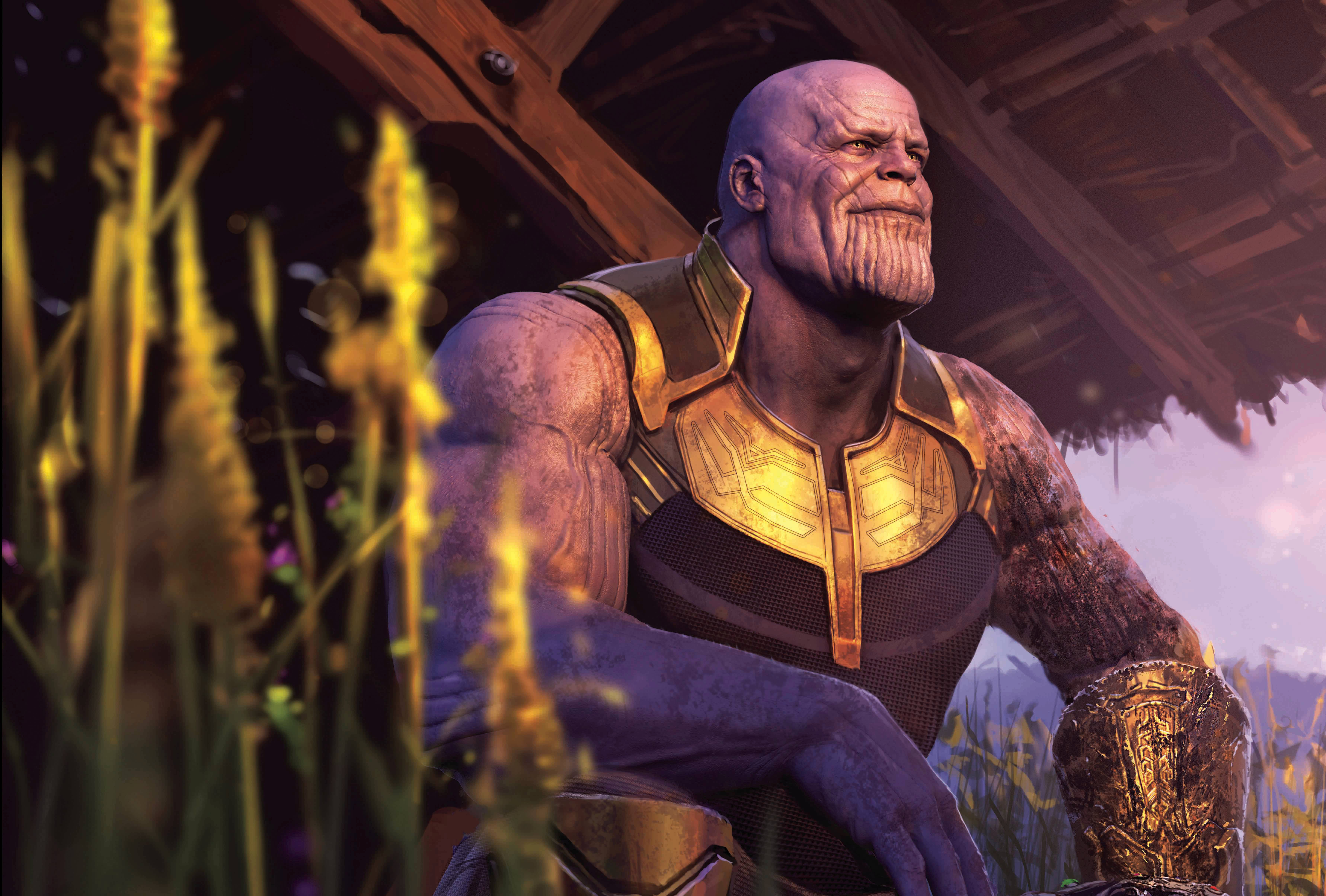 Thanos 4k Wallpaper Avengers Infinity War 8k Graphics Cgi 84