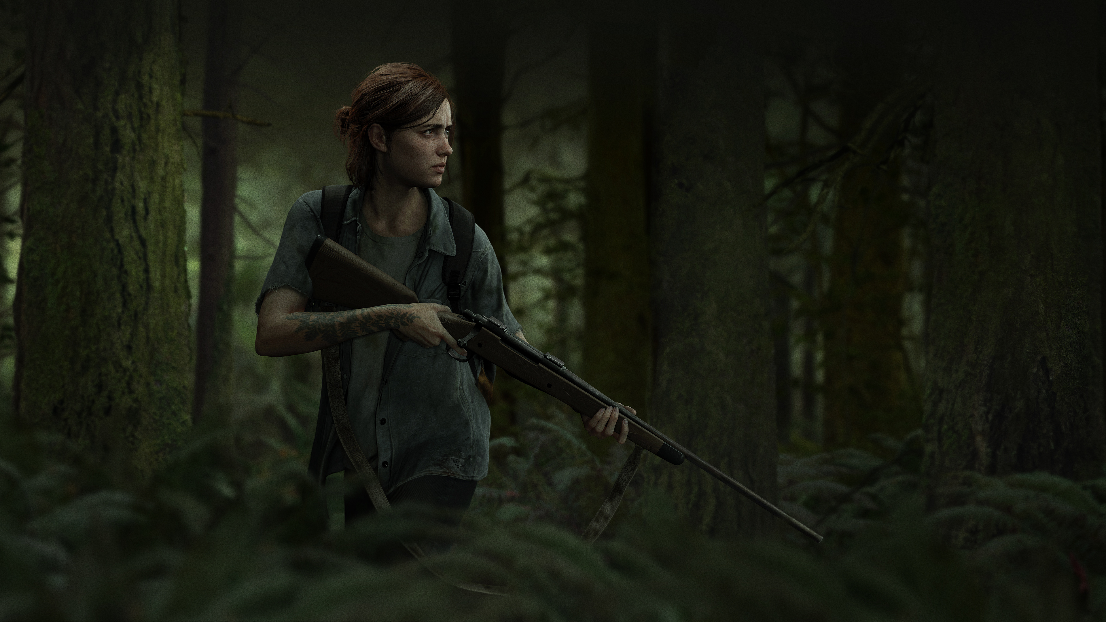 The Last Of Us Part Ii 4k Wallpaper Ellie Playstation 4 2020 Games Games 1877