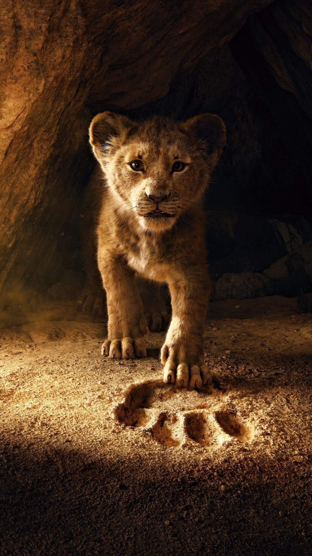 The Lion King 4K Wallpaper, Simba, Lion Cub, 5K, Movies, #944