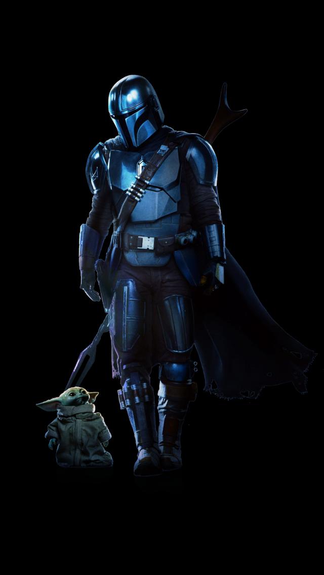 The Mandalorian 4k Wallpaper Baby Yoda The Child Season 2 Black Background Tv Series 2020 Black Dark 2805