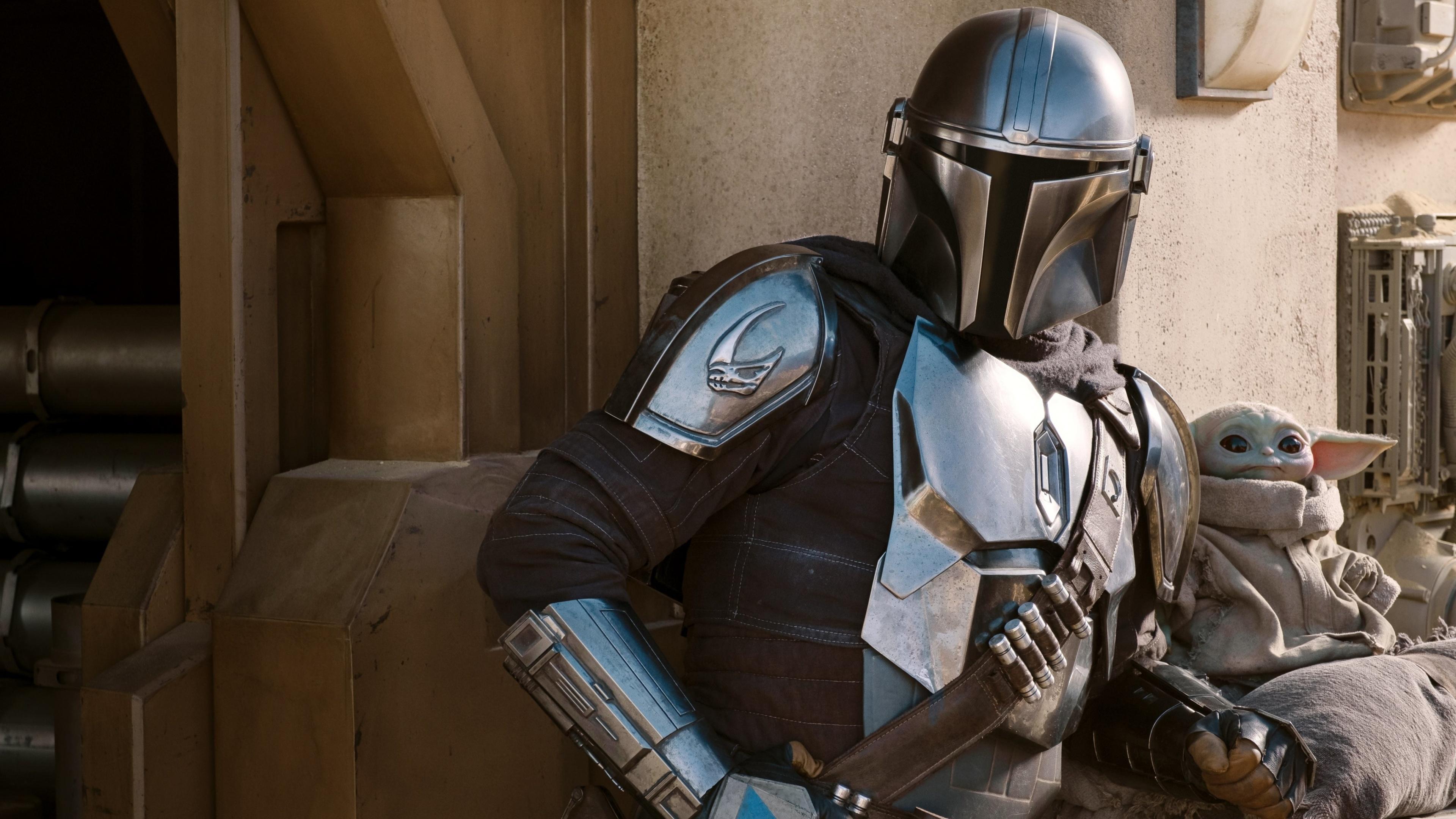 The Mandalorian 4k Wallpaper Silver Armor Season 2 2020 Tv Series Movies 2645