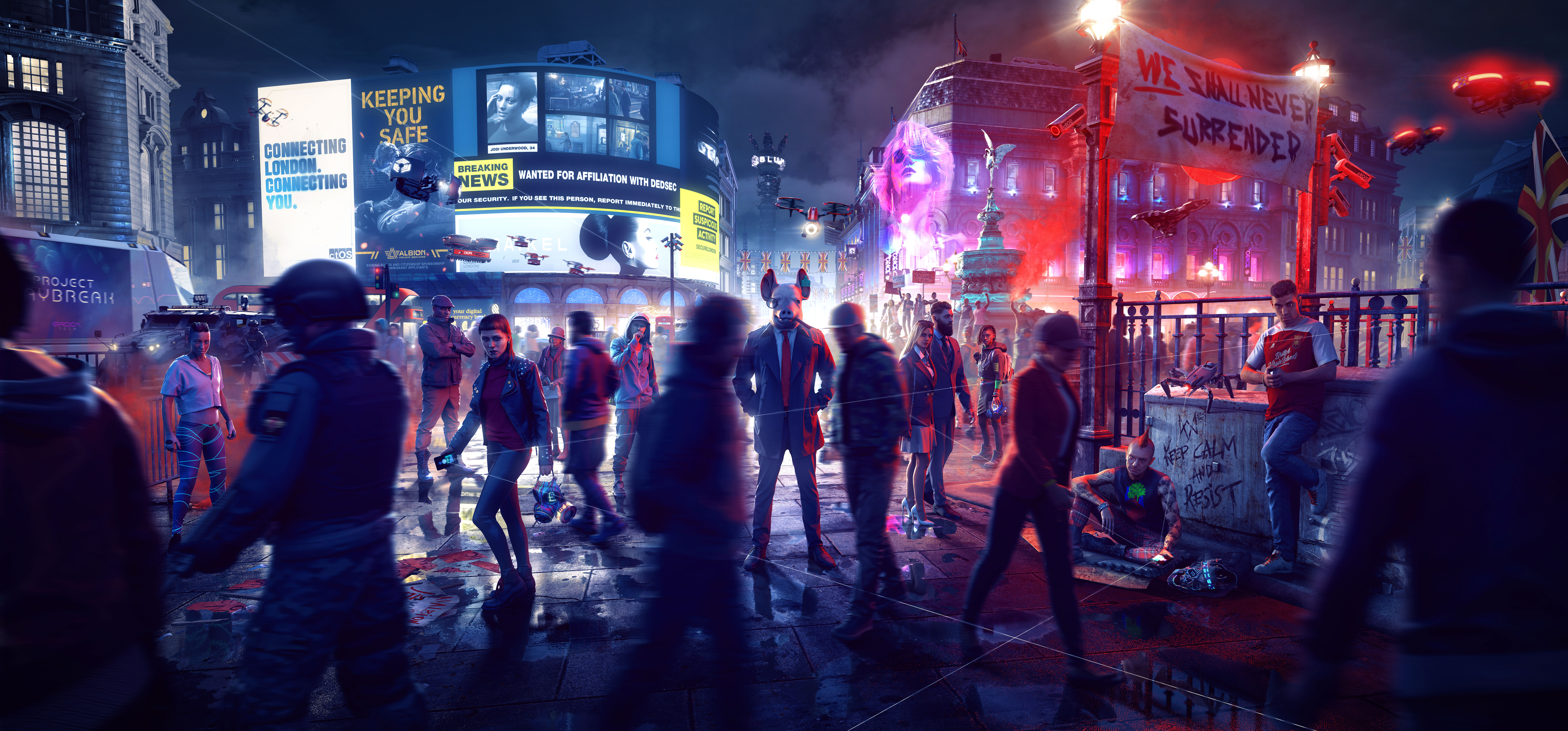 Watch Dogs: Legion 4K Wallpaper, 2020 Games, PlayStation 5 ...
