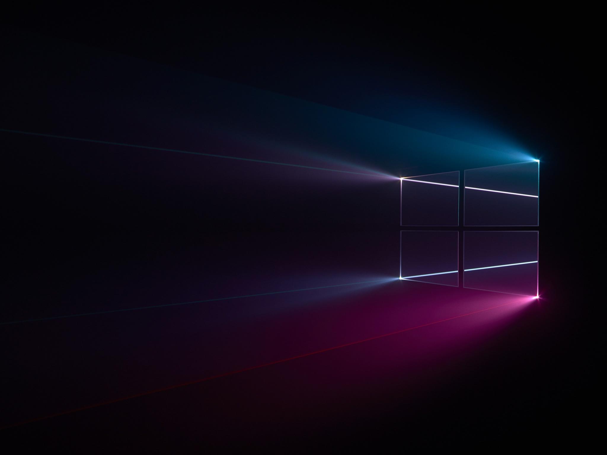 Windows 10 4k Wallpaper Microsoft Windows Colorful Black Background Technology 1552