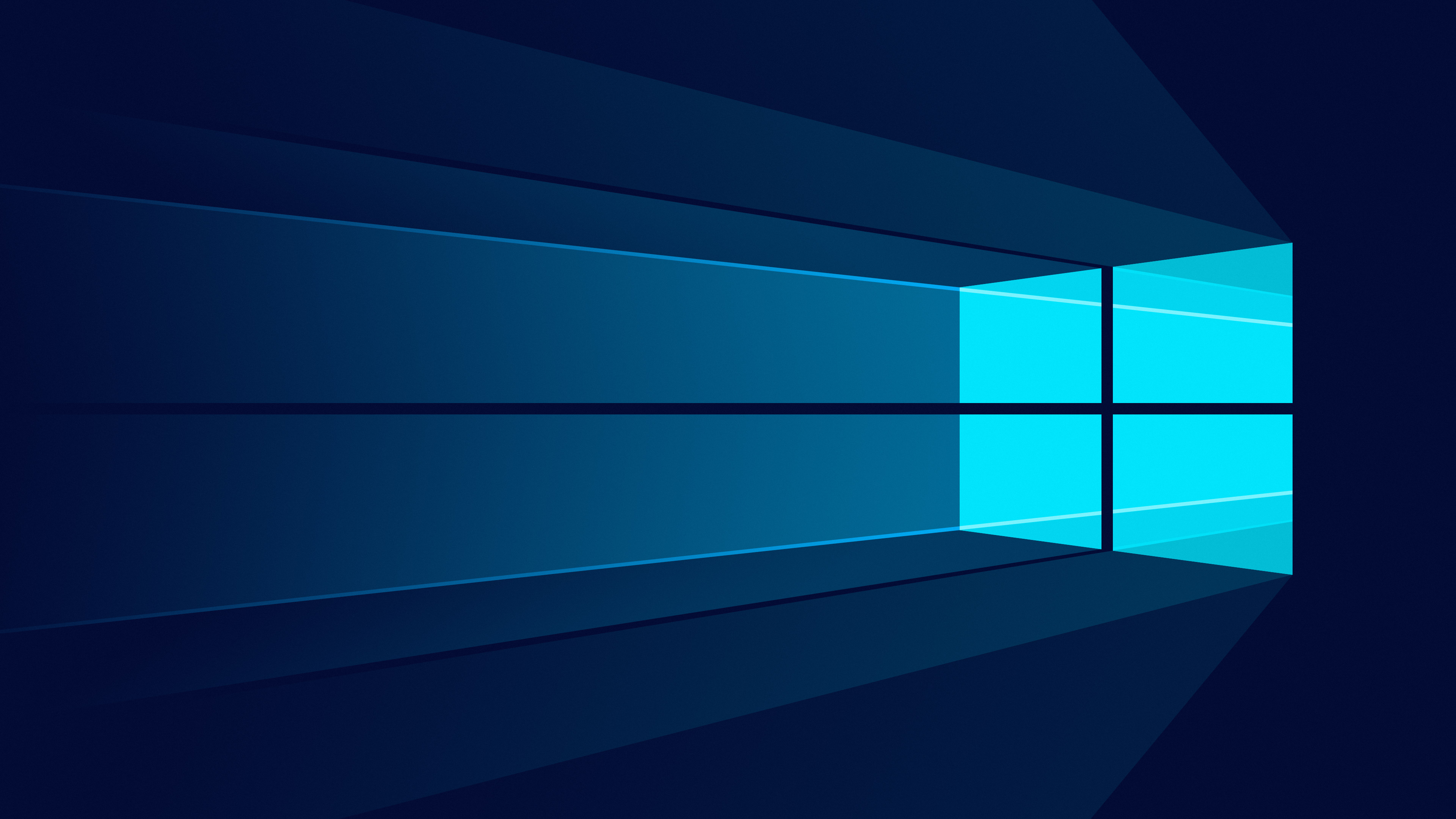 Windows 10 4k Wallpaper Microsoft Windows Minimalist Blue Background Technology 1557