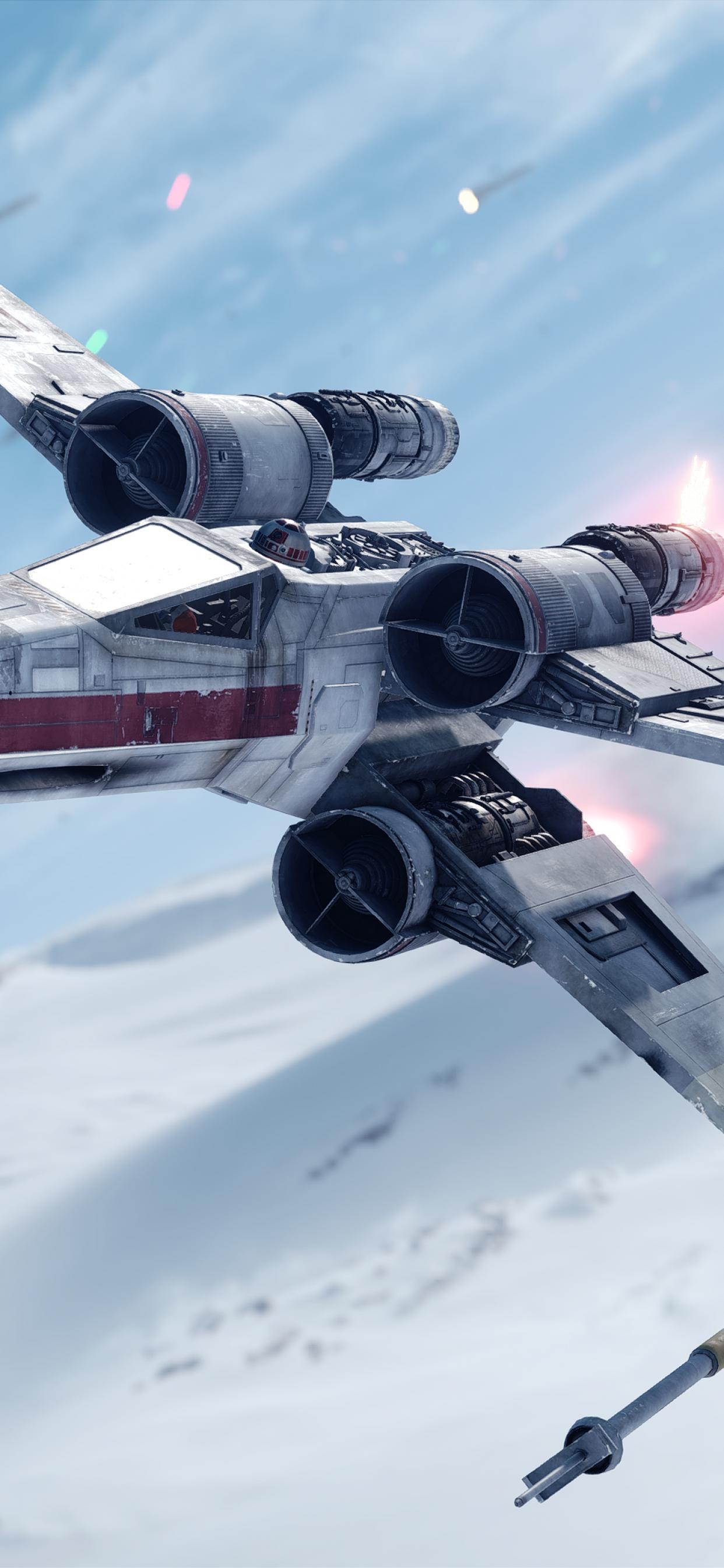 X Wing Starfighter Wallpaper 4k Star Wars Battlefront Spacecraft Games 1157