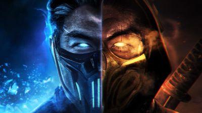 Mortal Kombat, Sub-Zero, Scorpion
