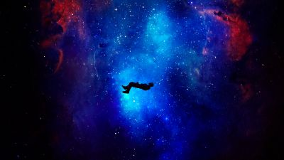 Lost in Space, Alone, Dream, Deep space, Nebula