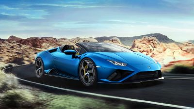 Lamborghini Huracan EVO RWD Spyder, 2020, 5K