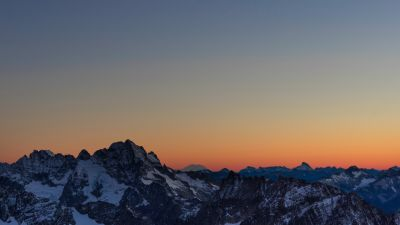 Mountains, Sahale Glacier Campground, North Cascades National Park, Wilderness, Dawn, Sunset, Dusk, Washington