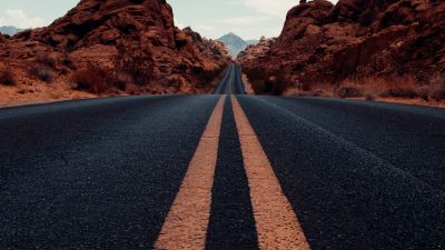 Valley of Fire State Park, Road, Tarmac, Highway, Nevada