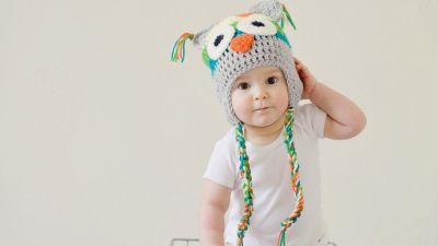 Cute boy, Toddler, Cute kid, Adorable, Crochet Hat, Basket