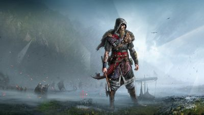 Assassin's Creed Valhalla, Viking raider, Fan Art, PC games, PlayStation 4, PlayStation 5, Xbox One, Xbox Series X, 2020 Games