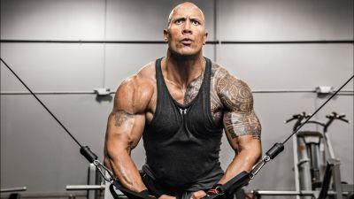 Dwayne Johnson, Weightlifting, Workout, Gym, 5K, 8K