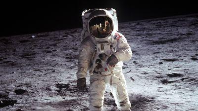 Astronaut, NASA, USA, Moon, Lunar surface, Spacesuit, Space exploration