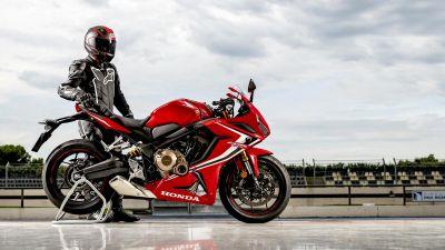 Honda CBR650R, Biker, Racer