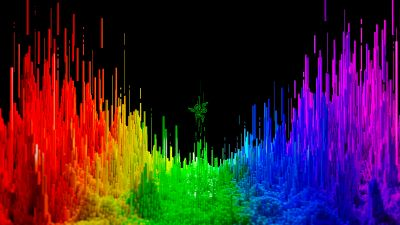 Spectrum, Razer, Colorful, Multicolor, Frequency, Sound waves