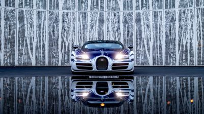 Bugatti Veyron Grand Sport Roadster, Hyper Sports Cars, 5K