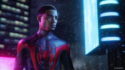 Miles Morales, Marvel's Spider-Man: Miles Morales, PlayStation 5, 2020 Games