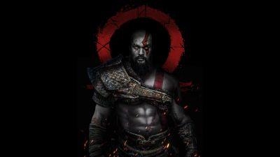 Kratos, Jason Momoa, God of War, Dark