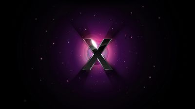 Mac OS X, Dark background, Apple, Stock