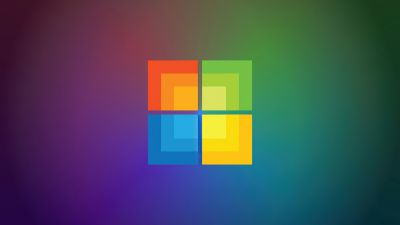 Windows 10, Colorful, Gradient background