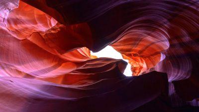 Antelope Canyon, Lower Antelope Canyon, Rocks, Arizona, 5K, 8K