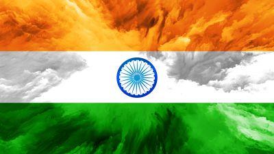 Indian Flag, Tricolour Flag, National Flag, Flag of India, 5K