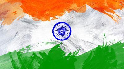 Indian Flag, Tricolour Flag, National Flag, Flag of India