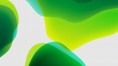 iPadOS, Stock, Green, White background, iPad, iOS 13, HD
