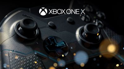 Xbox One X, Xbox Wireless Controller, Gaming console