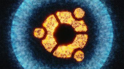 ubuntu, Abstract, ubuntu logo
